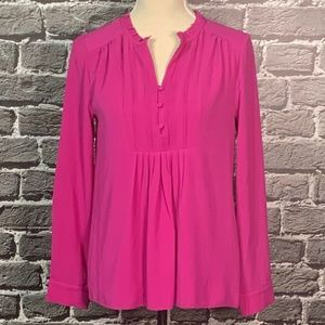 41 Hawthorn Stitch Fix Breyson Pink Pleated Blouse
